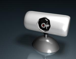 free simple camera 3d model