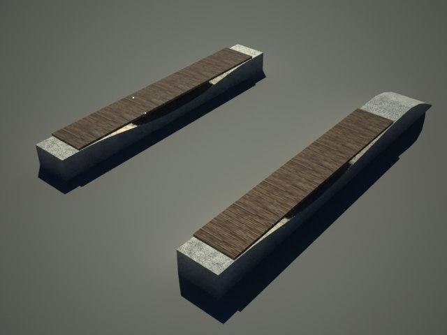maya strip benches