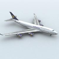 747-400 lufthansa max
