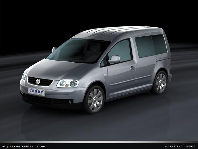3d model caddy kombi