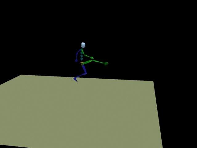 kick 3d model