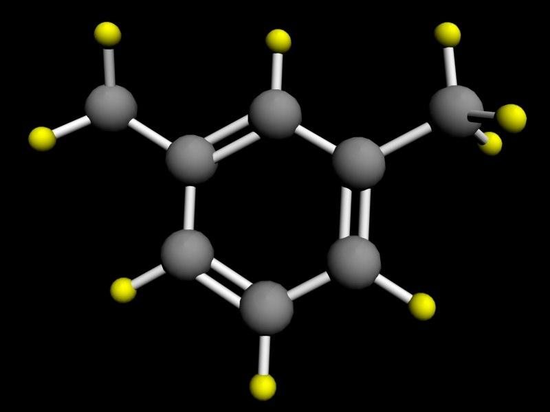 maya xylene atom