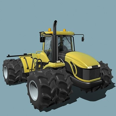 3dsmax tractor