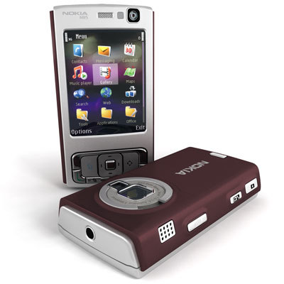 3d model nokia n95 mobile phone