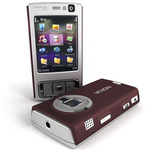 3d model nokia n95 mobile phone