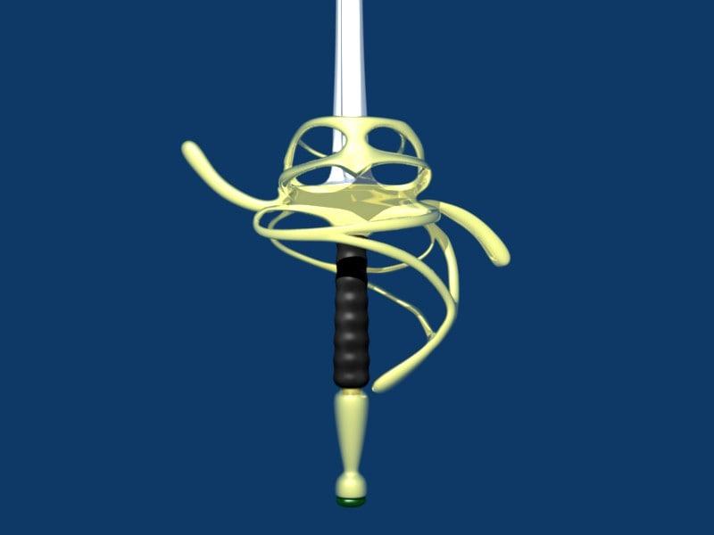 3ds rapier fencing