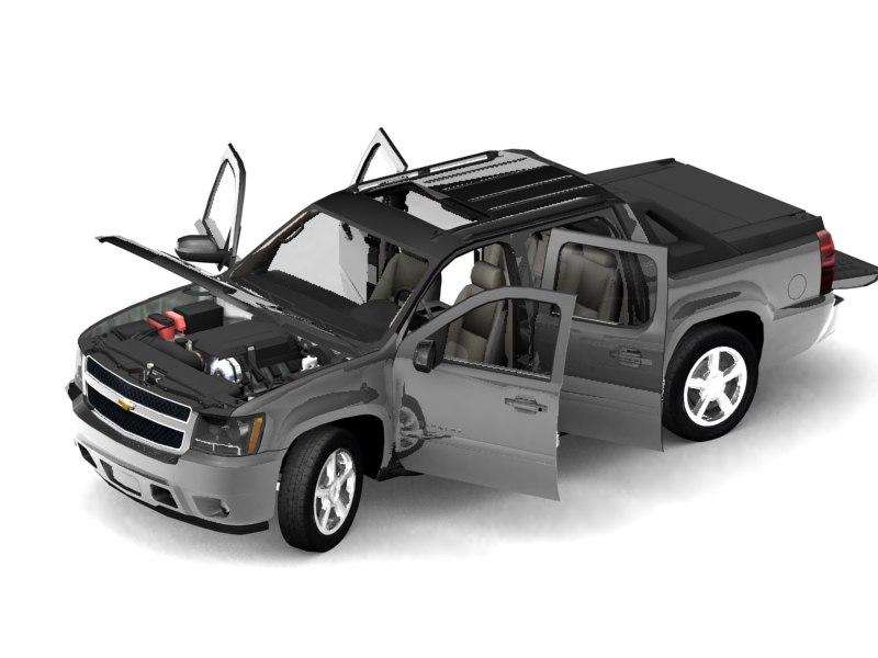 3d 2007 chevrolet pickup