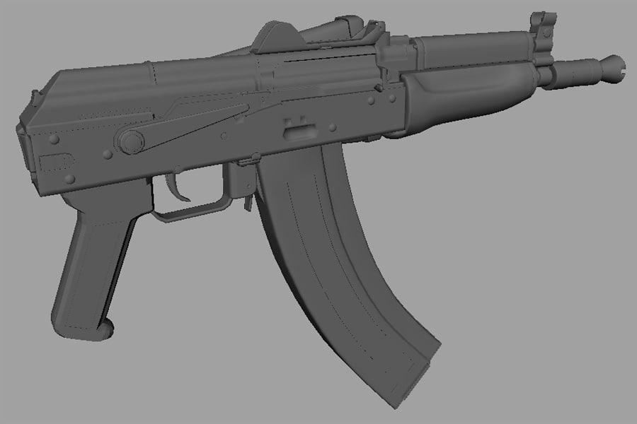 ak74s machine gun