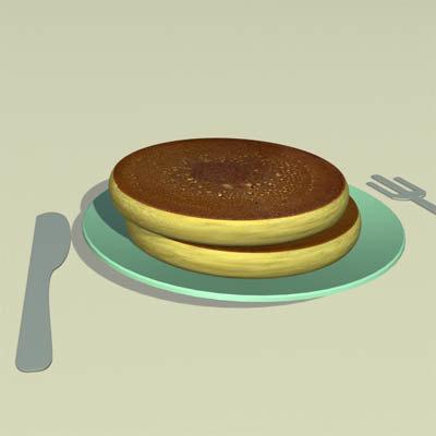 pancake 3d x