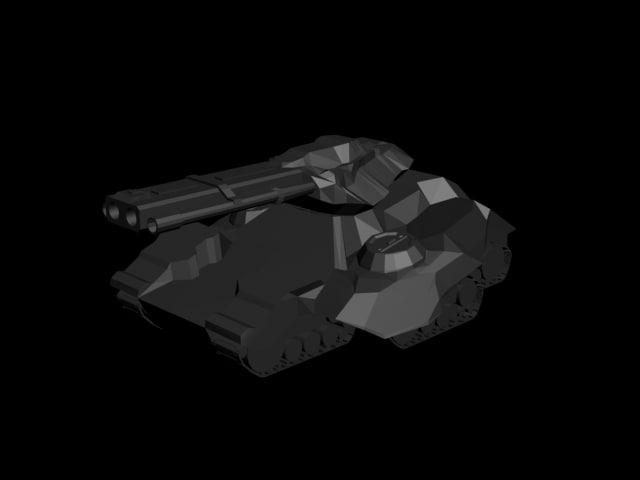3d crucio siege tank