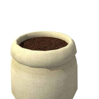 3ds max bag coffee