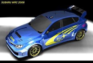 impreza wrc car 3d 3ds