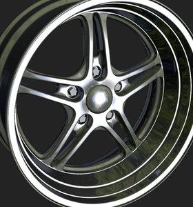 3d wheels rim model