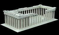 3d parthenon today