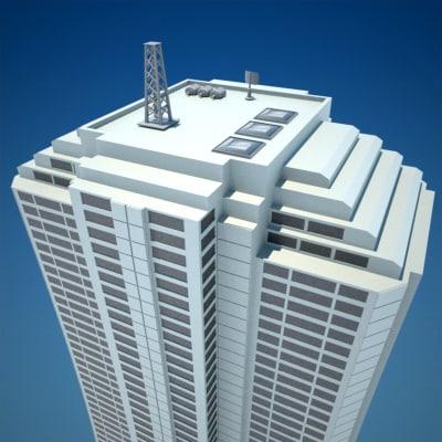 skyscraper 8 vol 1 3d model