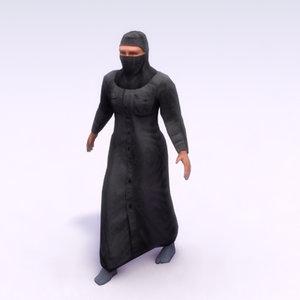 3ds arab female