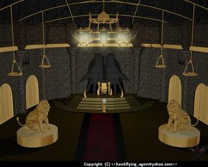 castel 3d model