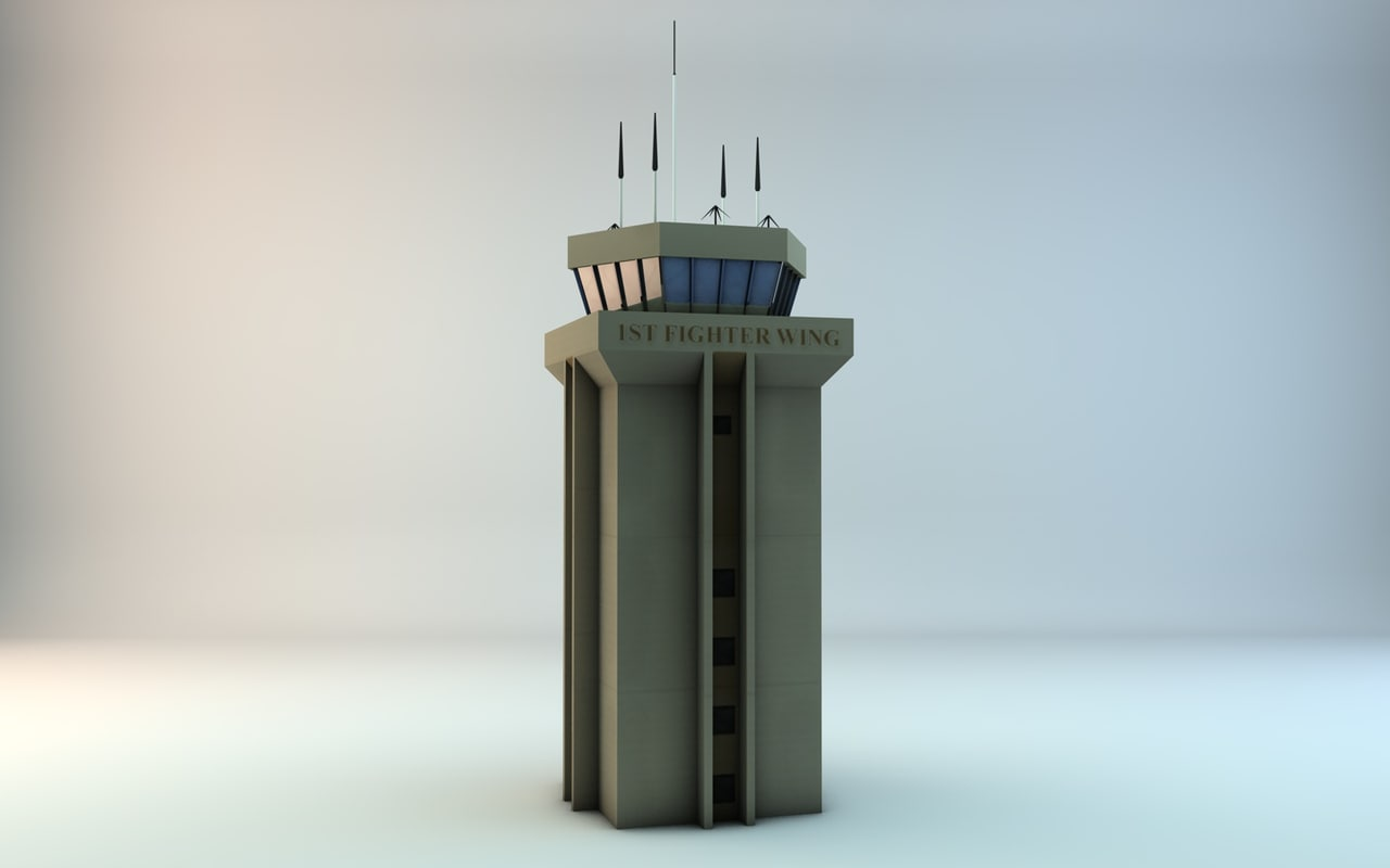 control tower c4d