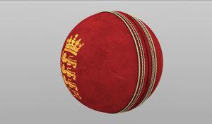 cinema4d cricket ball