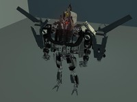 transformers robot 3d model