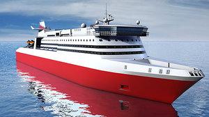 cinema4d cruise ship