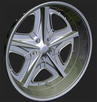 obj wheels rim