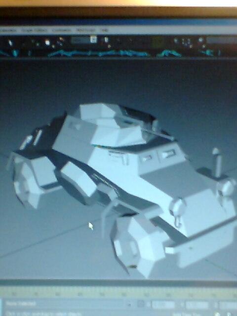 3d model sd kfz 222 2
