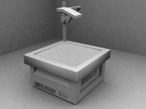 projector 3d max