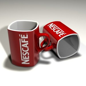 breakfast cup obj