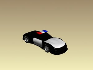 maya excalibur police car
