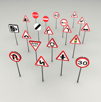 Road signs UK