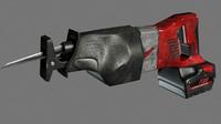 3d sawzall tool