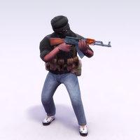 terrorist ak47 insurgents max