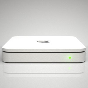 3d apple time capsule