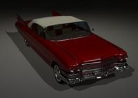 3d 1959 cadillac deville model