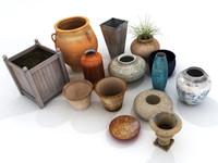 maya plant pots vases planters