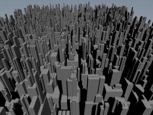 lightwave city buildings