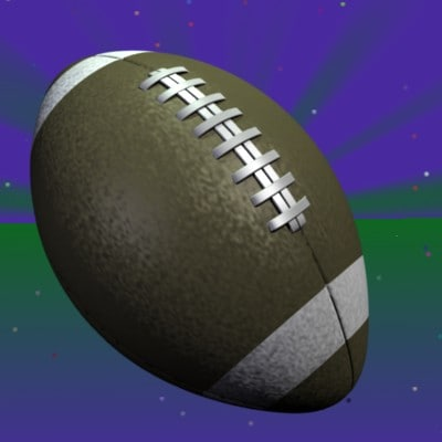 3d model football sports
