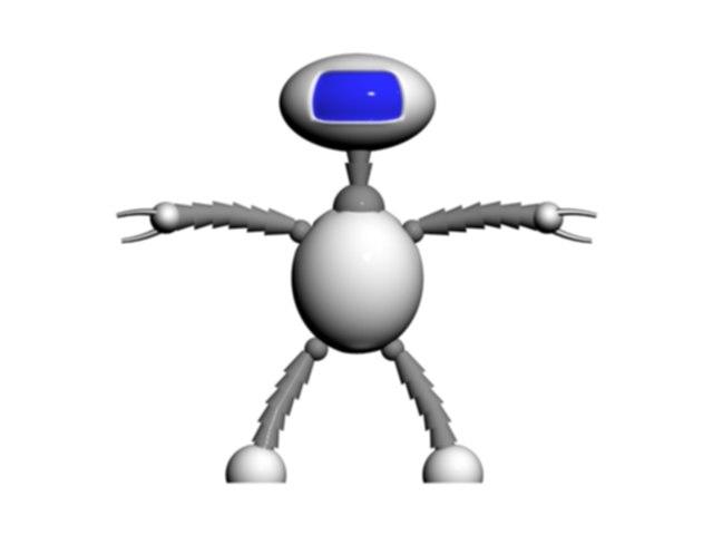 cool robot 3d model