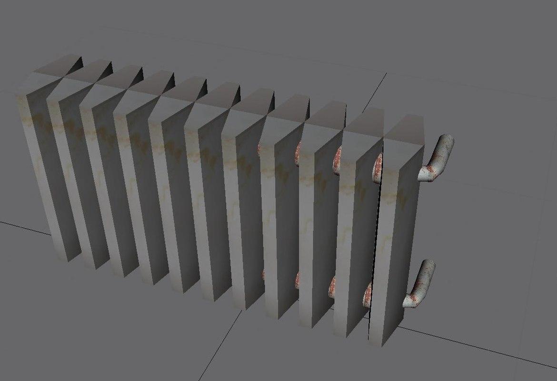 3d model of heater heat