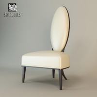 3ds max chair moon