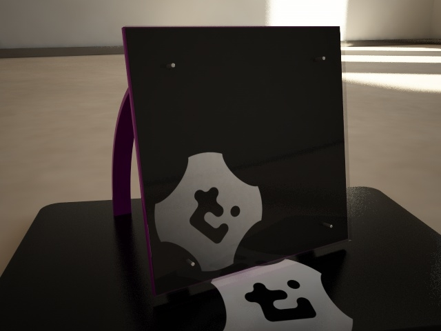 modern picture frame 3ds