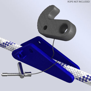 rope clamp ascender device x