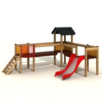 3ds max fortress kids