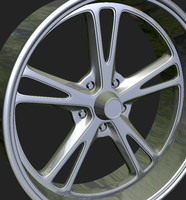 3d model wheels rim