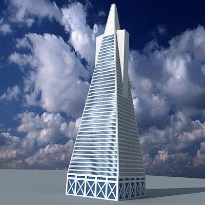 pyramid skyscraper 3d 3ds