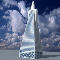 pyramid skyscraper 3d 3ds