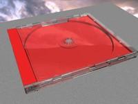 3d model cd case