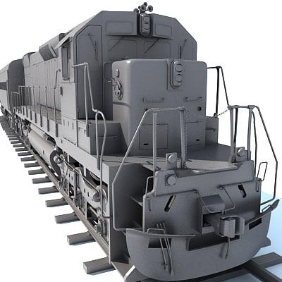 3ds max train wagon