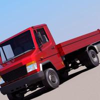 truck euro european 3d 3ds